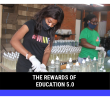 Enjoying The Rewards of Education 5.0