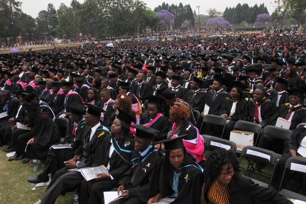 UNIVERSITY OF ZIMBABWE 2017 GRADUATION CEREMONY