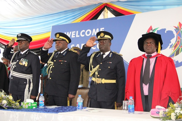 UZ OFFICIATES AT  2ND SARPCCO GRADUATION CEREMONY